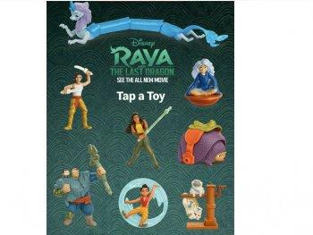 ラーヤと龍の王国 マクドナルド ミールトイ 8点コンプリートセット アクションフィギュア ハッピーセット Disney Raya and the Last Dragon McDonald's