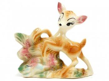 バンビ プランター Leed社 1950年代 ヴィンテージ ラージサイズ ディズニー Bambi