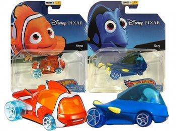 ホットウィール ファインディング・ニモ&ドリー メタルダイキャストカー 2点セット ディズニー ミニカー Hot Wheels Finding Nemo & Dory