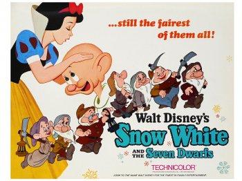 白雪姫 オリジナル ロビーカード 9枚セット 1967年 ヴィンテージ ディズニー アート Snow White and the Seven Dwarfs Lobby Cards