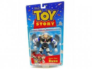 トイストーリー バズ・ライトイヤー アクションフィギュア ブリスターパッケージ マテル社 1998年 ディズニー Toy Story Space Claw Buzz