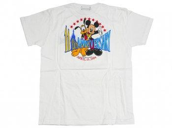 東京ディズニーランド 11周年記念 ミッキー&プルート Tシャツ 子ども用150サイズ 1994年 ホワイト 白 TDL Mickey Pluto
