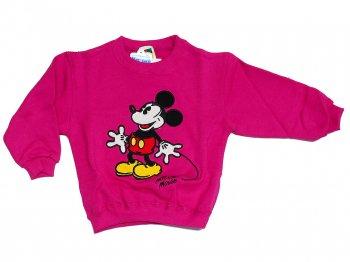 東京ディズニーランド ミッキー トレーナー 子ども用 100サイズ 2000年代 ピンク TDL Mickey