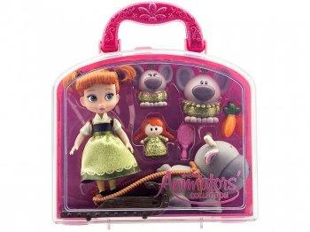 アナと雪の女王 アナ & スヴェン ミニドール プレイセット バッグ付き ディズニー アニメーターズ コレクションドール 人形 Disney Animators' Collection