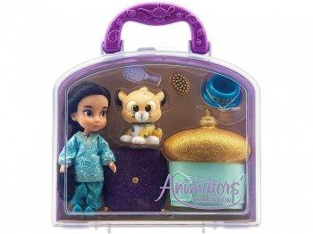 アラジン ジャスミン & ラジャー ミニドール プレイセット バッグ付き ディズニー アニメーターズ コレクションドール 人形 Disney Animator Collection Jasmine