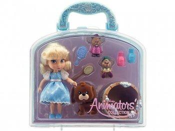 シンデレラ & ブルーノ ミニドール プレイセット バッグ付き ディズニー アニメーターズ コレクションドール 人形 Disney Animators' Collection Cinderella