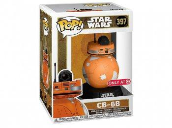 スター・ウォーズ CB-6B ファンコ FUNKO POP ! ビニールフィギュア ターゲットストア限定 ディズニー ドロイド Star Wars Target Exclusive Droid