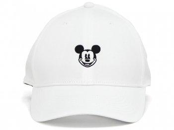 ミッキー Nike ナイキ ゴルフキャップ 帽子 ホワイト フェイス刺繍 ディズニーテーマパーク限定