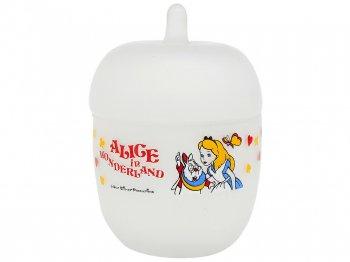 東京ディズニーランド ふしぎの国のアリス ガラスの小物入れ アリスのティーパーティー 1986年 不思議の国のアリス TDL Alice in Wonderland