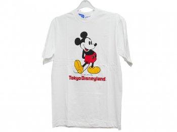 東京ディズニーランド ミッキー ヴィンテージ Tシャツ Mサイズ 1983年 ホワイト 白 TDL Mickey