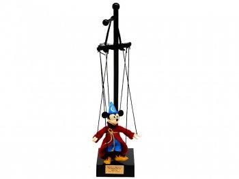 ファンタジア ソーサラーミッキー マリオネット ボブ・ベイカー・マリオネット あやつり人形 ディズニーストア限定 2000年代 スモールサイズ Mickey Mouse
