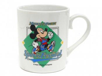 東京ディズニーランド ミッキーマウス スポーツフェスティバル マグカップ イベント限定 1990年 TDL Sports Festival Mickey