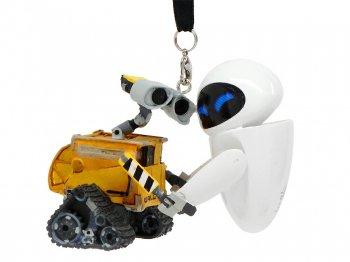 ウォーリー&イブ オーナメント 手をつなぐ ディズニーテーマパーク限定 ピクサー Disney Pixar Wall-E & Eve Ornament