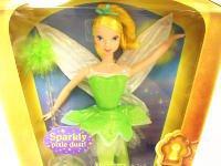 ティンカー・ベル Sparkly pixie dust ドール 人形 ランタンボックス ディズニー ティンカーベル