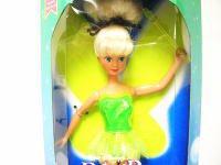 ティンカー・ベル フライング クラシックドール 人形 1993年 マテル社 ディズニー ティンカーベル