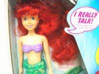 リトルマーメイド アリエル トーキングドール 人形 ラージサイズ ヴィンテージ  TYCO社 ディズニー