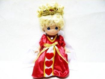 ふしぎの国のアリス ハートの女王 Precious Moments ドール 人形 不思議の国のアリス ディズニー
