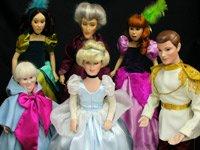 シンデレラ ポーセリンドール 人形 6点セット ディズニー
