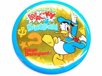 東京ディズニーランド ドナルドワッキーキングダム イベント 缶バッジ 1999年 缶バッチ TDL