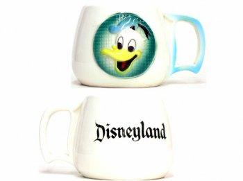 ドナルド Disneyland レリーフ マグカップ ヴィンテージ ディズニー