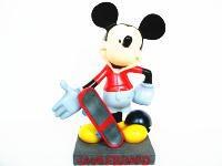 ミッキー75周年 インスピレーション フィギュア Mousesketeer スケートボード ディズニー InspEARations of Mickey Mouse フィギュアリン スケボー
