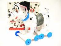 101匹わんちゃん プルトイ Slinky Dog 青の首輪 ディズニー