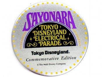 TDL さよならエレクトリカルパレード 1996年 プロモーション 缶バッジ 缶バッチ 東京ディズニーランド