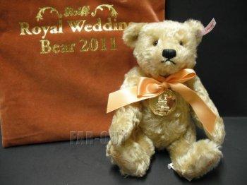 シュタイフ テディベア ぬいぐるみ イギリス王室 ウイリアム&ケイト・ミドルトン ウィリアム王子&キャサリン王妃 Royal Wedding 結婚記念 ロイヤルウェディング ダンバリーミント