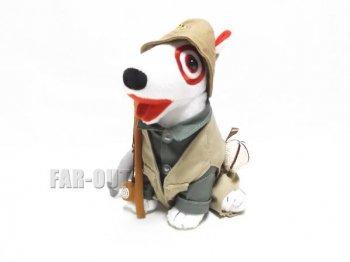 フィッシャーマン Bullseye ブルズアイ ブルテリア犬 ぬいぐるみ ターゲット限定