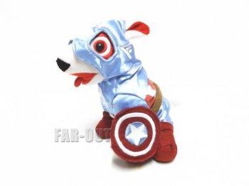 キャプテン・アメリカ Bullseye ブルズアイ ブルテリア犬 ぬいぐるみ ターゲット限定