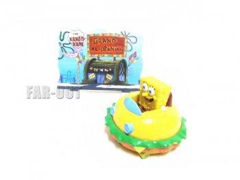 スポンジボブ SpongeBob Krabby Patty ハンバーガー フィギュア 31アイスクリーム