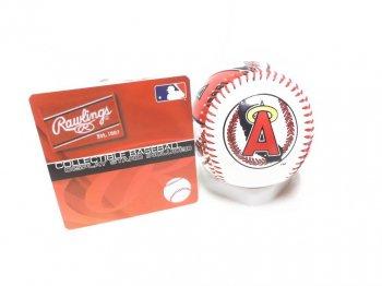 ローリングス ロサンゼルス エンゼルス オブ アナハイム ベースボール 野球 硬球 ディスプレイスタンド付き LOS ANGELES ANGELS Rawlings Collectible Base