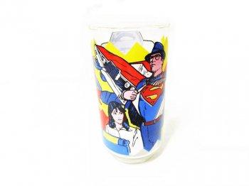 スーパーマン クラーク・ケント ペプシ プロモーション グラス タンブラー 1978年 映画公開記念 ヴィンテージ DCコミックス Superman The Movie Pepsi Tumbler