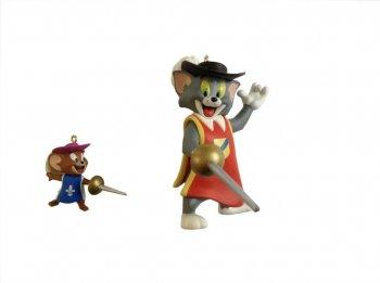 ホールマーク 2011 オーナメント トムとジェリー パーティー荒らし 鼠の二銃士 ハンナ・バーベラ Hallmark Hanna-Barbera Tom and Jerry Two Mouseket