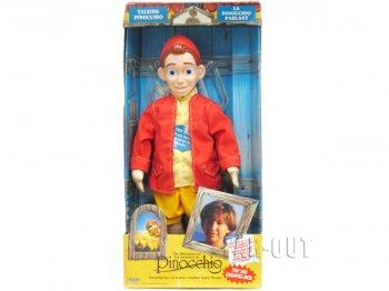 PINOCCHIO ピノッキオ 実写版ピノキオ トーキングドール 人形 ラージサイズ 1996年