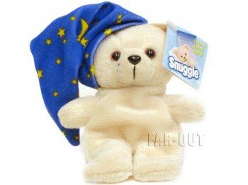 ファーファ Snuggle Bear ビーンバッグ ミニ ぬいぐるみ w/ ナイトキャップ 2001年