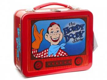ハウディドゥーディーズ ランチボックス TIN缶 復刻版 ホールマーク 1998年 Hallmark School Days The Howdy Doody Show Lunch Box