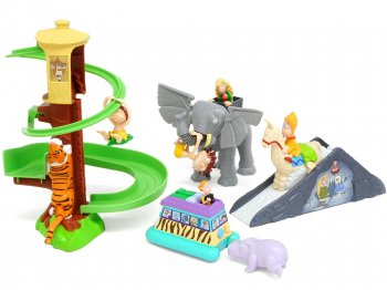 ワイルド・ソーンベリーズ バーガーキング ミールトイ 4点コンプリートセット ニコロデオン 2000年 Nickelodeon The Wild Thornberrys Burger King