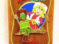 ピンイベント カーミット&ピギー アーティストチョイスピンズ ディズニー