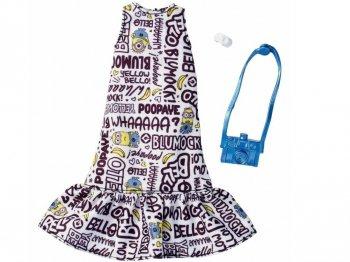 バービー ライセンスファッション 着せ替え Despicable Me ミニオン フリルワンピース 服 衣装 アクセサリー ファッションセット