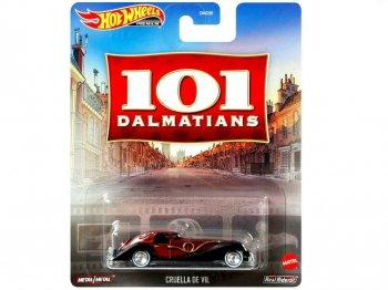 ホットウィール  101匹わんちゃん クルエラ メタルダイキャストカー ディズニー ミニカー Hot Wheels 101 Dalmatians Cruella De Vil