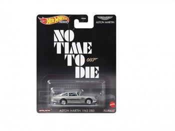 ホットウィール 007 ノー・タイム・トゥ・ダイ 1963 アストンマーチン メタルダイキャスト ミニカー Hot Wheels 007 No Time To Die Aston Martin DB5
