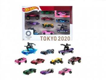 ホットウィール 東京オリンピック 2020  メタルダイキャスト ミニカー 10種 ボックス入りセット Hot Wheels Tokyo Olympic