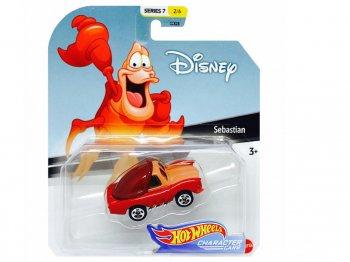 ホットウィール リトルマーメイド セバスチャン ダイキャストカー ディズニー ピクサー ミニカー Hot Wheels Disney The Little Mermaid Sebastian