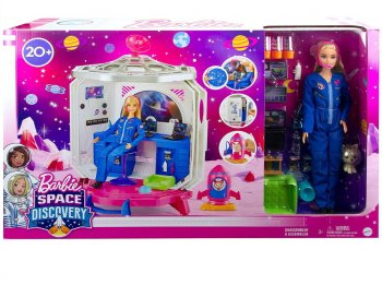 バービー スペース ディスカバリー 宇宙飛行士 ドール 付き プレイセット 人形 アストロノート Barbie Space Discovery Playset