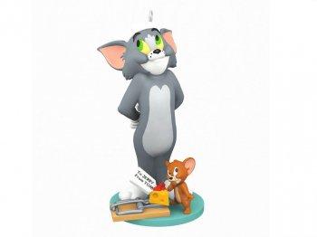 ホールマーク 2021 オーナメント トムとジェリー メリー・クリスマス ハンナ・バーベラ Tom and Jerry The Night Before Christmas Hanna-Barbera