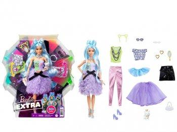 バービー エクストラ  ファションアップ ポーザブル ライトブルーへア ドール&アクセサリー付き 人形 Barbie Extra Doll & Fashions  GYJ69