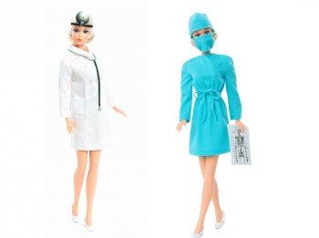 バービー 1973 ドクター ヴィンテージ 復刻版 女医 ドール 人形 ファッション付き Twist n' Turn Barbie 1973 Doctor Doll GTJ94