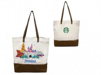 スターバックス コーヒー トートバッグ ディズニーランド限定 スタバ USA Starbucks Disneyland Tote Bag