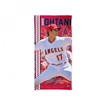 ロサンゼルス エンゼルス オブ アナハイム 大谷翔平 ピッチャー ビーチタオル ラージサイズ 大リーグ MLB LOS ANGELES ANGELS SHOHEI OHTANI